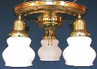 Antique Pan Light Fixture Example 02